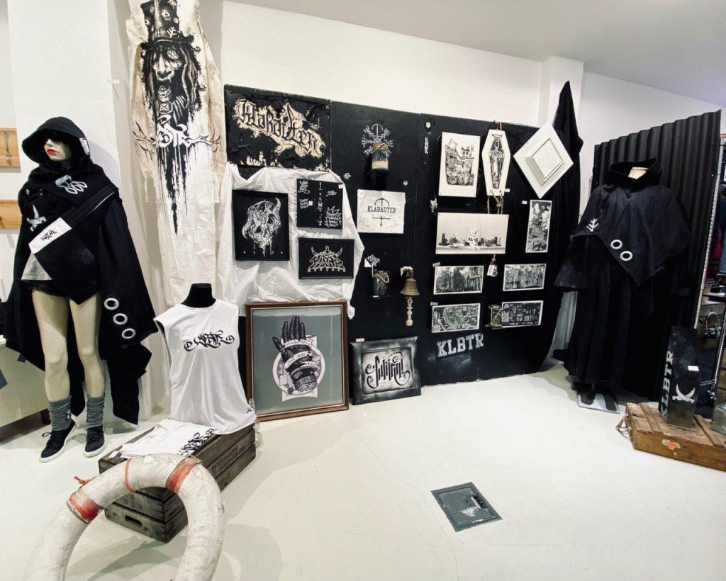 Bilder und Kleidung von dem Kollektiv Kabautercrüe
