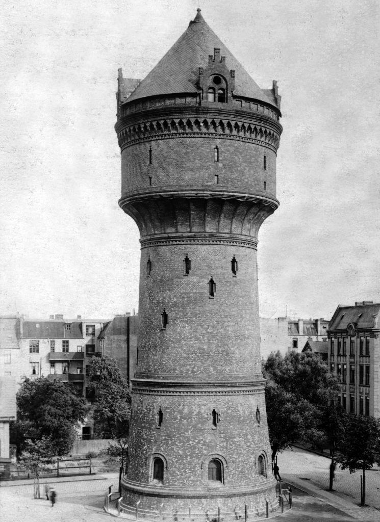 Historisches Foto vom Wasserturm Geestemünde (c) Archiv Historisches Museum Bremerhaven