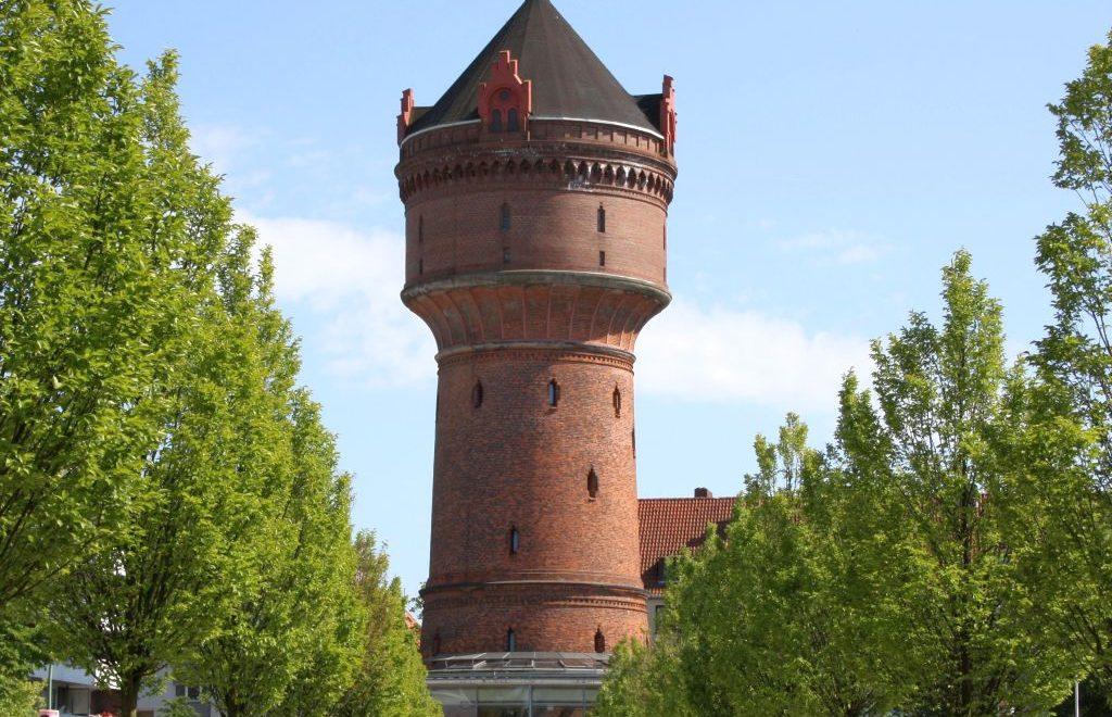 Blick auf den Wasserturm Geestemünde (c) Tanja Albert