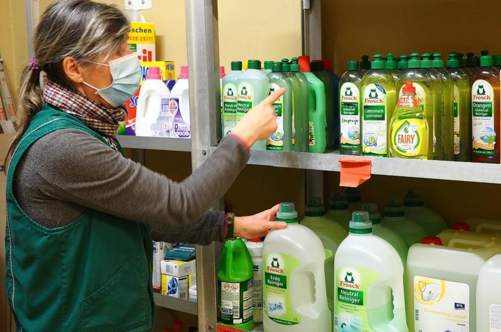 Putz- und Desinfektionsmittel