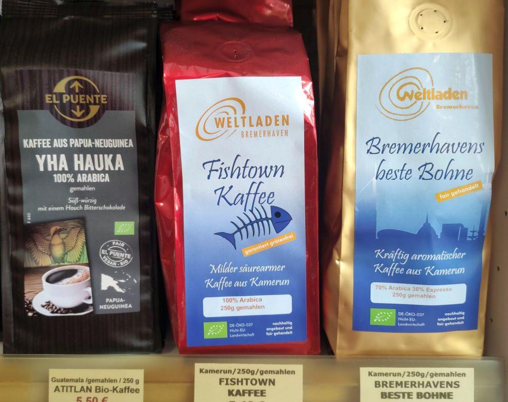 Fishtown Kaffee und Bremerhavens beste Bohne (c) Tanja Albert