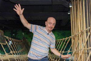 Bermhatrd Hoecker zu Besuch im Klimahaus Bremerhaven 8° Ost