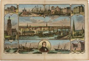 Ansichtskarte von Bremerhaven © Historisches Museum Bremerhaven