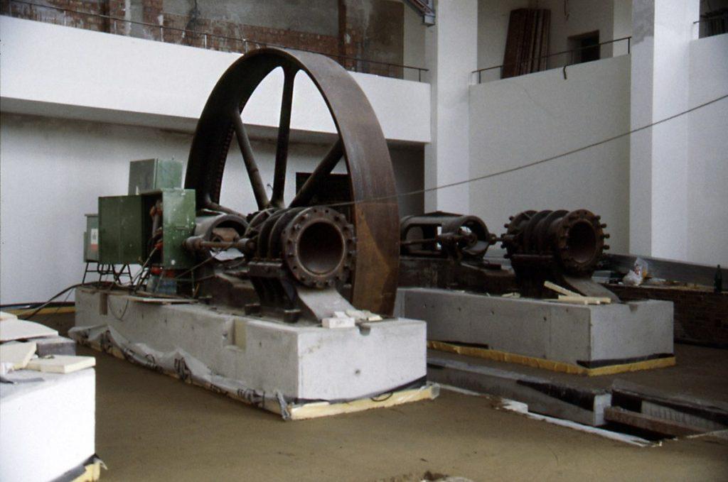 Schwungrad einer Kältemaschine (c) Historisches Museum Bremerhaven